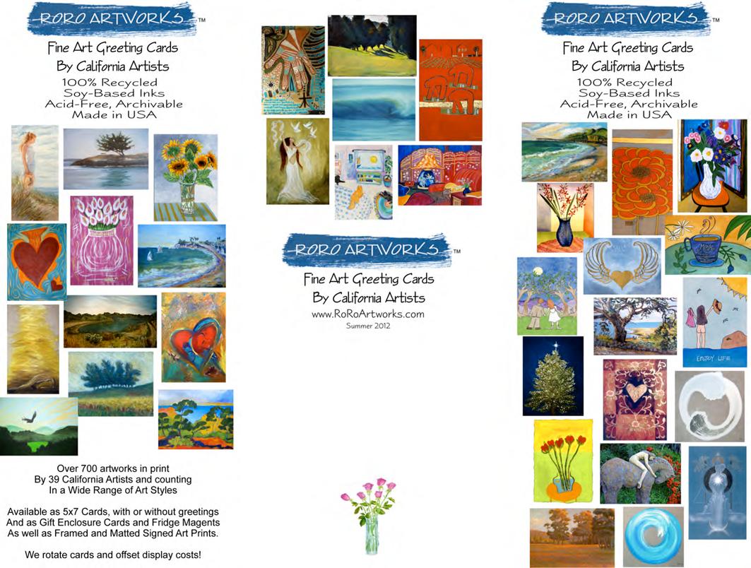 Roro Artworks Tri Fold Brochure
